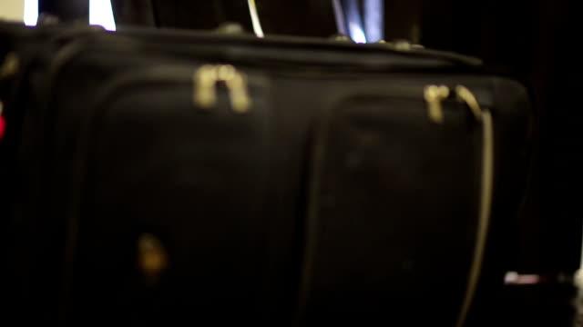 Luggage Coming on Conveyor Belt video