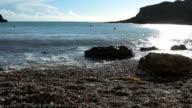 Lulworth Cove Beach Detail video