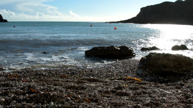 Lulworth Cove Beach Detail video