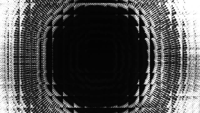 Luma matte video transition and reveal. Modern grunge glass technique video