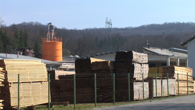 HD: Lumber industry video