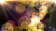 luminous bokeh background video