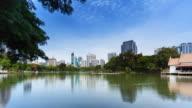 Lumphini Park Bangkok; TIME LAPSE video