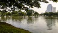 lumpini park at bangkok thailand video