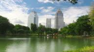 Lumpini Park in Bangkok video