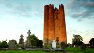 Lusk Round Tower, Ireland video