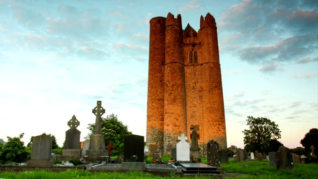 Lusk Round Tower, Ireland video
