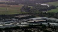 Luton  - Aerial View - England, Luton, United Kingdom video