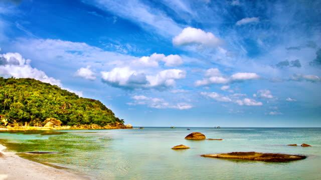 Luxury beach video