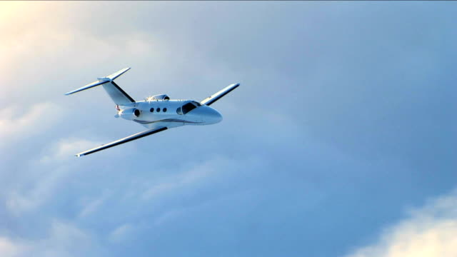 Luxury Corporate Jet video