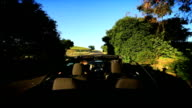 Luxury Driving in the Countryside of Napa Valley video