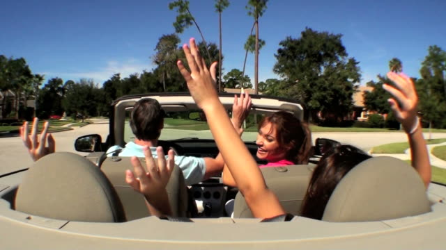 Luxury Family Driving video