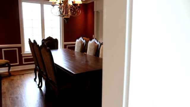 Luxury Home Dining Room video