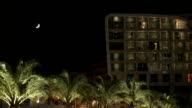 Luxury hotel and spa by night video