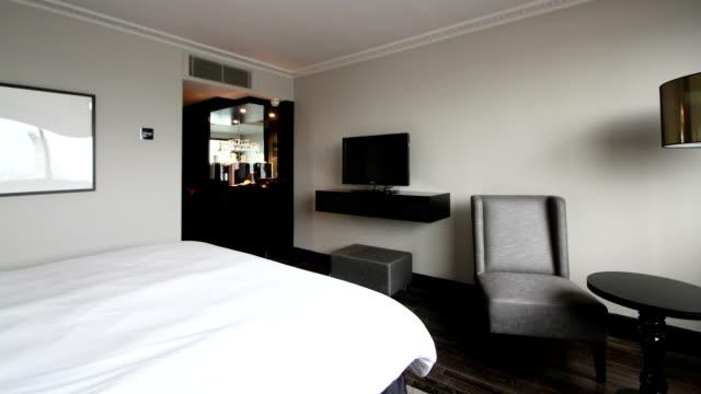luxury hotel room video