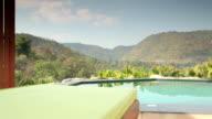 Luxury Hotel Suite, Swimming Pool, Nature video