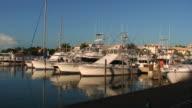 Luxury Marina Panning in HD video