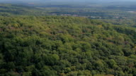 AERIAL: Luxury real estates with wilderness parcels in remote mountainous land video
