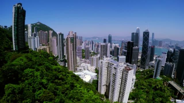 Luxury Residential Region in Hong Kong. video
