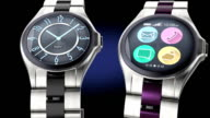 Luxury smart watches with round icon design video