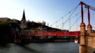 Lyon and Saone River video