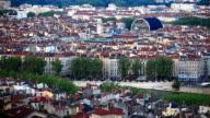 Lyon City Skyline video