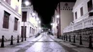 Macau - 22 November 2013: St. Lazarus district area video