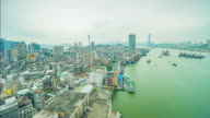 macau cityscape video