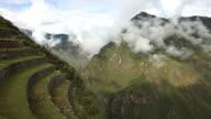 Macchu Picchu Terraced fields TimeLapse video