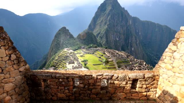 Machu Picchu 4K video