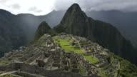 Machu Picchu timelapse video
