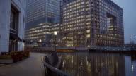Mackenzie Walk at Canary Wharf London video
