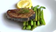 mackerel steak video