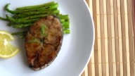mackerel steak video