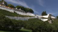 Mackinac fort panorama - HD 1080/60i video