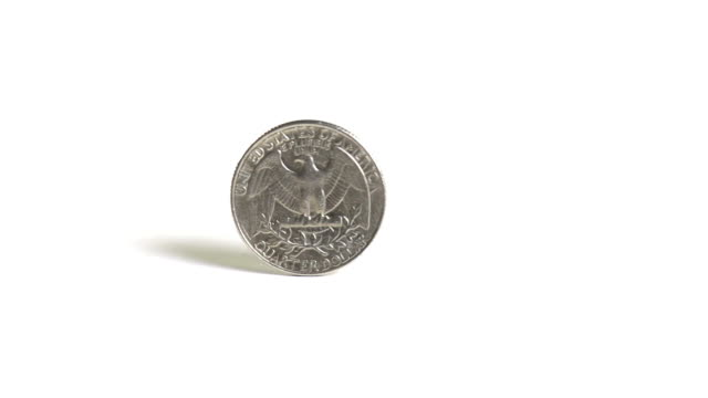 Macro Coin Spin video