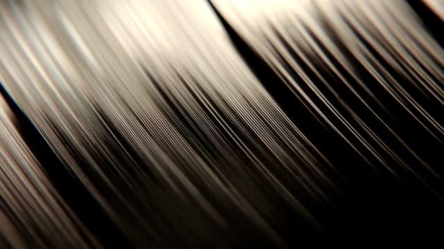 Macro Of A Vinyl Record Disc video