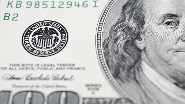 Macro shooting of money video
