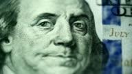 macro shot united states dollars video