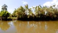 Madagascar traditional river landscape video