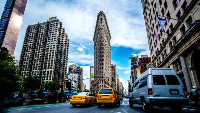 Madison Square Flatiron New York timelapse video