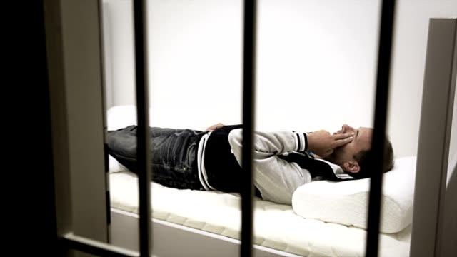 Madman cursing behind the bars video