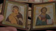 Madonna (Mary) of Jerusalem and a child (Jesus Christ) video