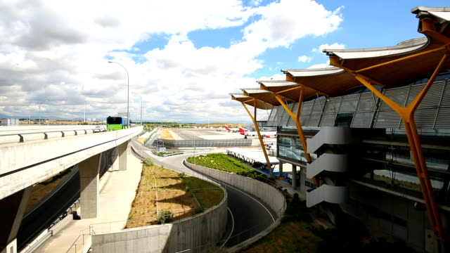 Madrid Airport, Realtime video