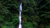 Magai waterfall l in hongxi Nature reserve,lingui,guilin,china video