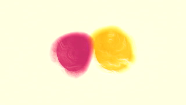 Magenta and Yellow Color Blend video