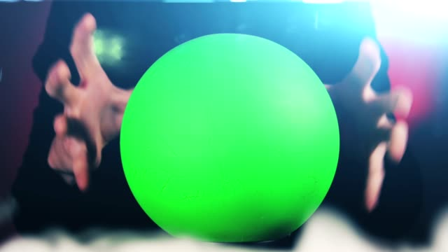 Magic Ball with Green Screen video