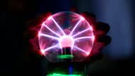 Magic ball with lightning video