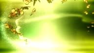 Magic Butterflies (green) - Loop video
