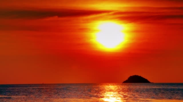 Magic sunset video